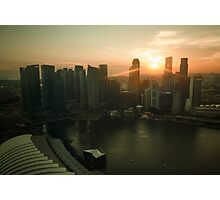 Sunset in Asia Photographic Print