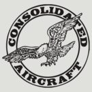 Consolidated Aircraft Logo (Black) by warbirdwear
