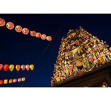 Indian Temple Photographic Print