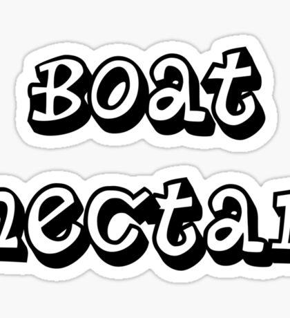Boat Nectar Sticker