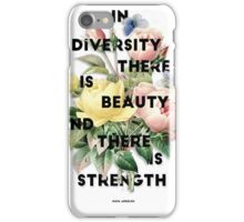 In Diversity   iPhone Case/Skin