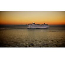 Sailing at Sunset (enlarge for better view) Photographic Print