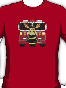 Cute Giraffe Fireman T-Shirt