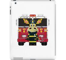 Cute Giraffe Fireman iPad Case/Skin