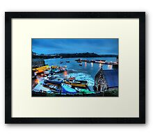 Tenby Harbour High Tide Framed Print