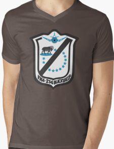 VMF-214 Emblem Mens V-Neck T-Shirt