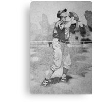 The Old Ball Game Canvas Print