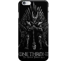 Sauron Lord Of The ring iPhone Case/Skin