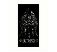 Sauron Lord Of The ring Art Print