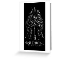 Sauron Lord Of The ring Greeting Card