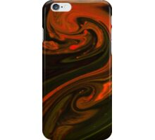 Fluid Painting S3-08 iPhone Case/Skin