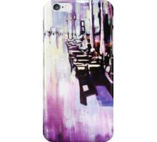 After the rain, street scene landscape iPhone Case/Skin