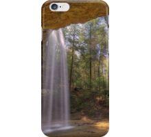 Ash Cave in Hocking HIlls Ohio iPhone Case/Skin