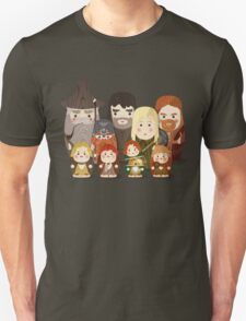 Fellowship of the Ring Matryoshka (Nesting) Dolls T-Shirt