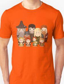 Fellowship of the Ring Matryoshka (Nesting) Dolls T-Shirt