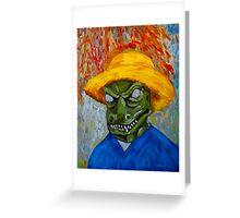 Vincent Van Gorn Greeting Card