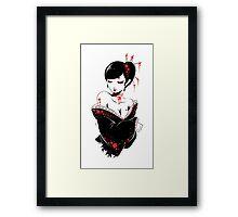 japanesque Framed Print