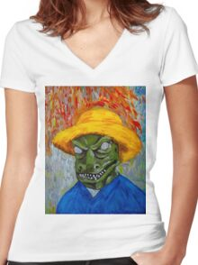 Vincent Van Gorn Women's Fitted V-Neck T-Shirt
