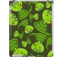 Cartoon Cobra Snake Pattern iPad Case/Skin