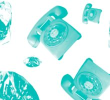 Hotline Bling (Blue) Sticker