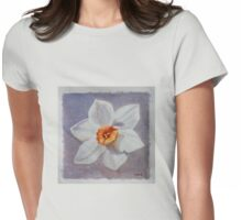 daffodil one Womens Fitted T-Shirt