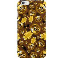 Cute Cartoon Lion Pattern iPhone Case/Skin