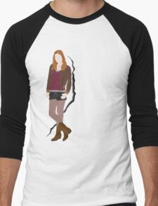 Amy Pond Men's Baseball ¾ T-Shirt