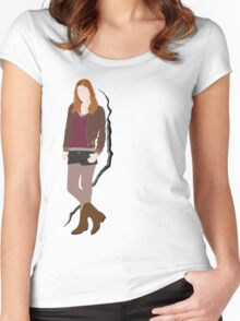 Amy Pond Quote Women's Fitted Scoop T-Shirt