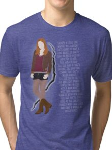 Amy Pond Quote Tri-blend T-Shirt