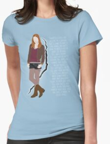 Amy Pond Quote Womens Fitted T-Shirt