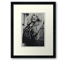 Guess Girl Framed Print
