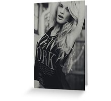 Guess Girl Greeting Card