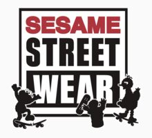 Sesame Street Wear by Lilterra