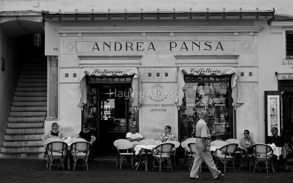 Andrea Pansa by Hayley Musson