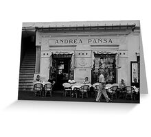 Andrea Pansa Greeting Card