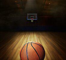 Basketball Sport iPad Case Cover Design by Gotcha29