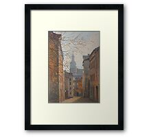Place In Old City Framed Print
