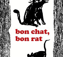 bon chat bon rat by Michal Bladek
