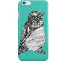 Tribal Penguin iPhone Case/Skin