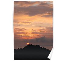 Sunset Manuel Antonio Costa Rica Poster