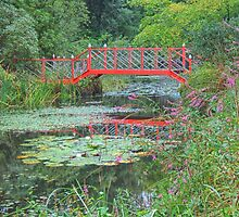 Red bridge by Mortimer123