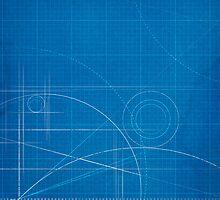 Blueprint iPad Cover Design by Gotcha29