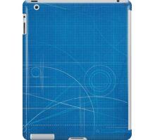Blueprint iPad Cover Design iPad Case/Skin
