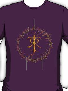 Tolkien Elvish Ring Shirt T-Shirt