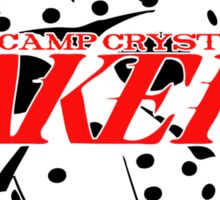 Camp Crystal Laker Sticker