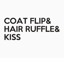COAT FLIP & HAIR RUFFLE & KISS by SallySparrowFTW