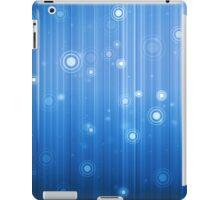 Blue Circle Fantasy image iPad Case/Skin