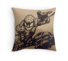 The Amazing Spiderman Throw Pillow