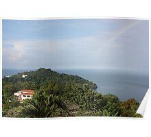 Manuel Antonio Rainbow Poster