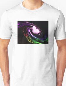 Heart filled galaxy Unisex T-Shirt
